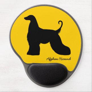 Afghan Hound Gel Mouse Mat