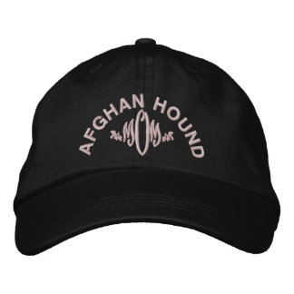 Afghan Hound Mom Gifts Embroidered Hat