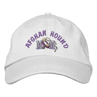 Afghan Hound Mom Gifts Embroidered Hats