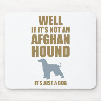 Afghan Hound Mouse Mat