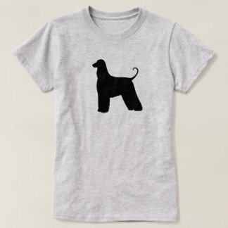 Afghan Hound Silhouette T-Shirt