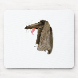 Afghan Hound, tony fernandes Mouse Pad