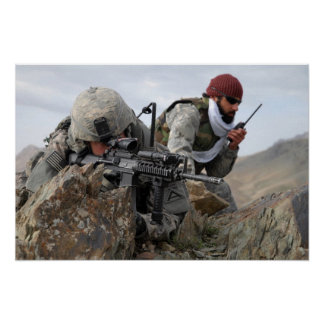 Afghan Military Soldier Cool Guys Posters
