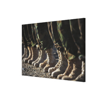 Afghan National Army Air Corp Soldiers Canvas Print