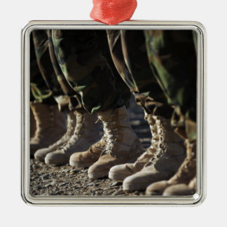 Afghan National Army Air Corp Soldiers Christmas Ornament
