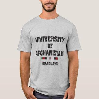 Afghan veteran graduate distressed 2 shirt