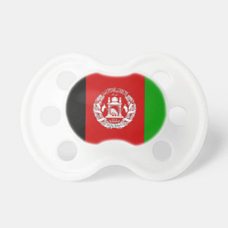 Afghanistan 0-6 month old Flag  Pacifiers