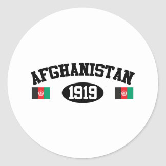 Afghanistan 1919 round sticker