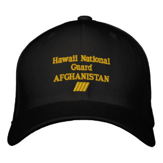 AFGHANISTAN 24 MONTH COMBAT TOUR EMBROIDERED HATS