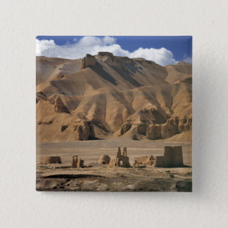Afghanistan, Bamian Valley. Ancient earthen 15 Cm Square Badge
