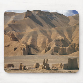 Afghanistan, Bamian Valley. Ancient earthen Mouse Mat