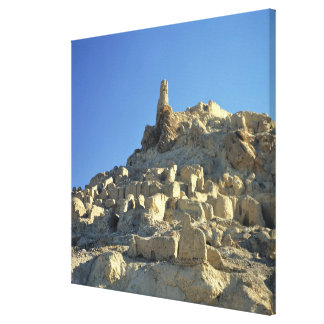 Afghanistan, Bamian Valley. Legend tells that Canvas Print