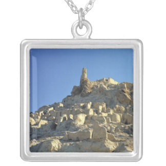 Afghanistan, Bamian Valley. Legend tells that Silver Plated Necklace