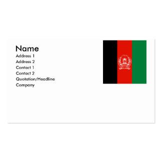 Afghanistan Business Card