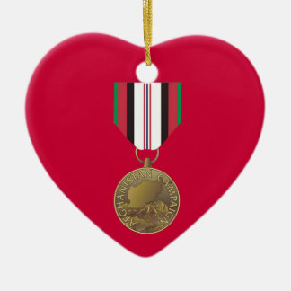 Afghanistan Campaign Medal Christmas Ornament