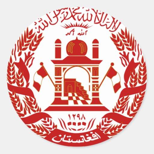Afghanistan Coat of arm AF Sticker