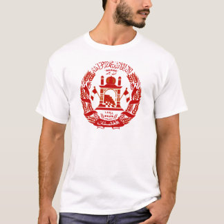 Afghanistan Coat of arm AF T-Shirt