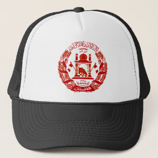 Afghanistan Coat of arm AF Trucker Hat