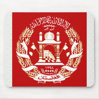 Afghanistan Coat of Arms detail Mouse Mat