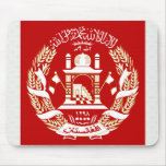 Afghanistan Coat of Arms detail Mousepad