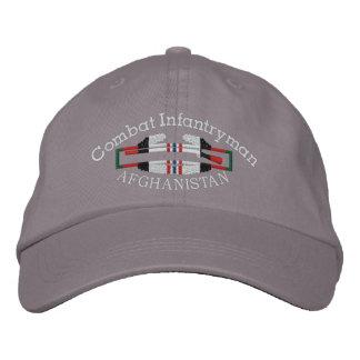 Afghanistan  Combat Infantryman Badge Hat Embroidered Baseball Caps