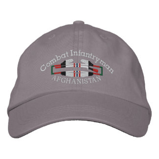 Afghanistan  Combat Infantryman Badge Hat Embroidered Hats