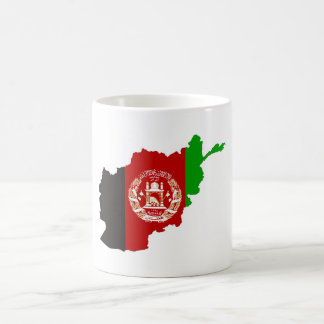 afghanistan country flag map shape symbol silhouet coffee mug