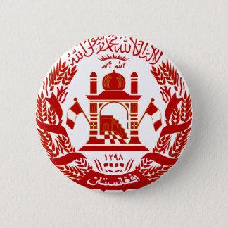 afghanistan emblem 6 cm round badge