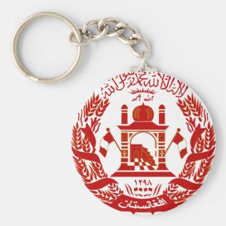 afghanistan emblem key chain