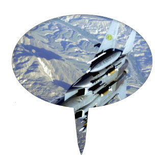 AFGHANISTAN F-15 HAVE A NICE DAY CAKE TOPPERS