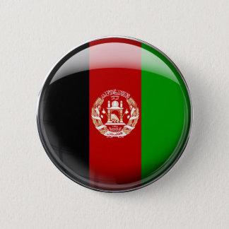 Afghanistan Flag 6 Cm Round Badge