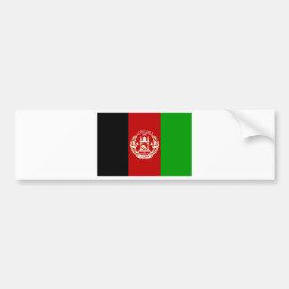 Afghanistan  Flag AF Bumper Sticker