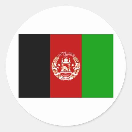 Afghanistan  Flag AF Stickers