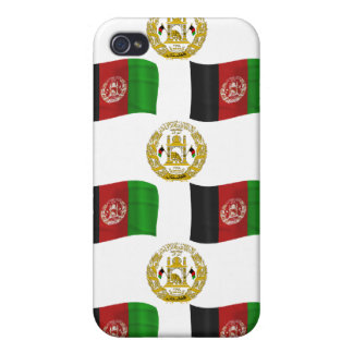 Afghanistan Flag and Crest Cover For iPhone 4