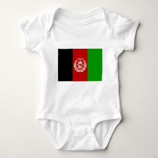 Afghanistan flag baby bodysuit