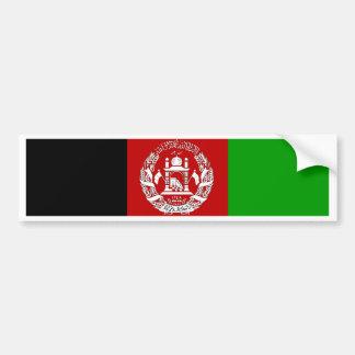 Afghanistan Flag Bumper Sticker