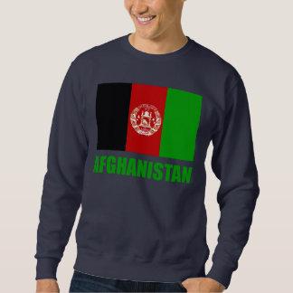 Afghanistan Flag Green Text Sweatshirt