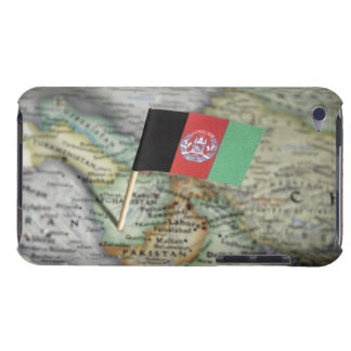 Afghanistan flag in map barely there iPod covers