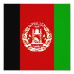 Afghanistan Flag Invitation