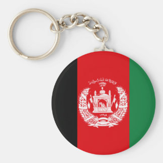 Afghanistan Flag Key Ring