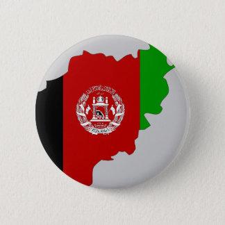 Afghanistan flag map 6 cm round badge