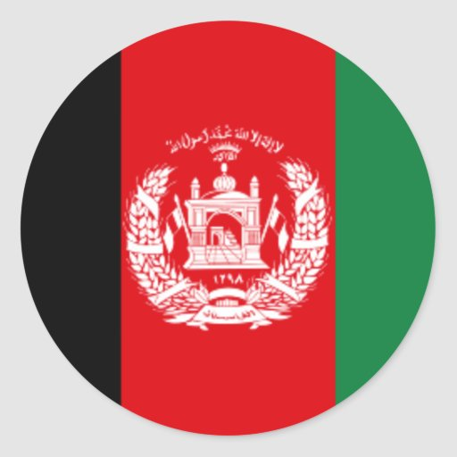 Afghanistan Flag Stickers