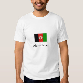 Afghanistan Flag T-shirts