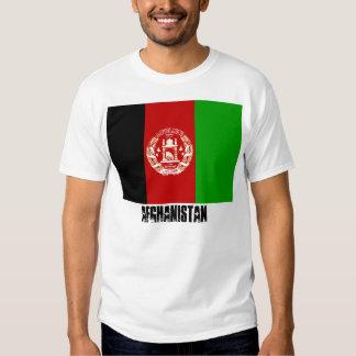 Afghanistan Flag Tshirt