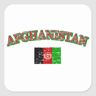 Afghanistan football design stickers