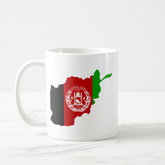 AFGHANISTAN MAP COFFEE MUG
