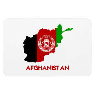 AFGHANISTAN MAP RECTANGLE MAGNET