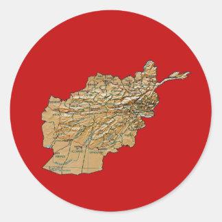 Afghanistan Map Sticker