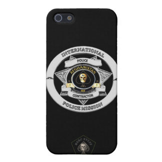 Afghanistan Police Contractor Phone Case Case For The iPhone 5