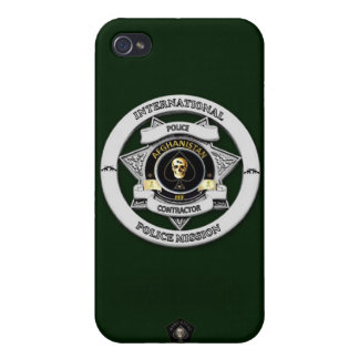 Afghanistan Police Mission Phone Case iPhone 4 Covers